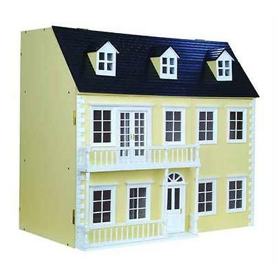 Glenside Grange Ready to Assemble Dolls House Painted Cream 12th Scale