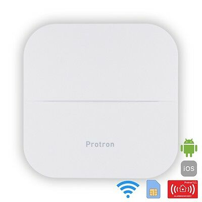 Protron Smart Home Funk GSM WiFi WLAN Alarmanlage Sirene APP SMS RFID Smarthome