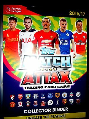 Match Attax  2016/17  Full Set Of All 60 Man Of The Match Cards. All Mint
