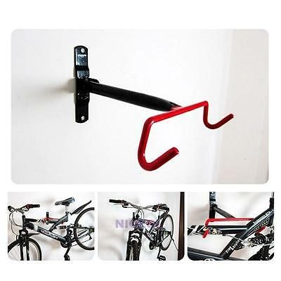 Cycling Bicycle Compact Design Garage Wall Bike Mount Solid Steel Hook Holder