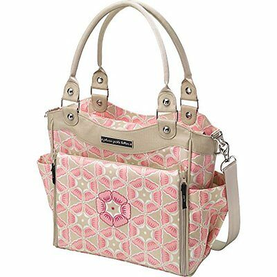 NEW Petunia Pickle Bottom City Carryall Diaper Bag - Pink - Size: One Size