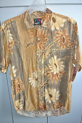Jams World  Mens Small  Koa Forest on Brown/NWT