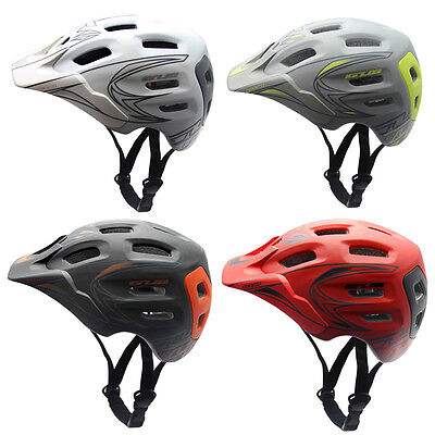 Mountain Bike Bicycle Cycling Safety Helmet With Visor Adjustable Unisex Adult