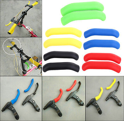 1 Pair Brake Lever Protector Silicone Protective Handle Sleeve For MTB Road Bike