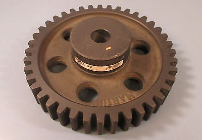 "Martin C440 Spur Gear 14-1/2 Deg Pressure Angle 40 Teeth 1-1/4"" Plain Bore New"