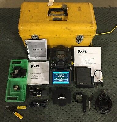 Fujikura FSM-50R Arc Fusion Splicer (Total Arc Count: 4803)