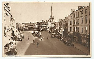 england Herefordshire postcard hereford