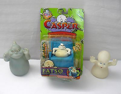 Lot Set Of 3 Casper The Friendly Ghost Collectibles