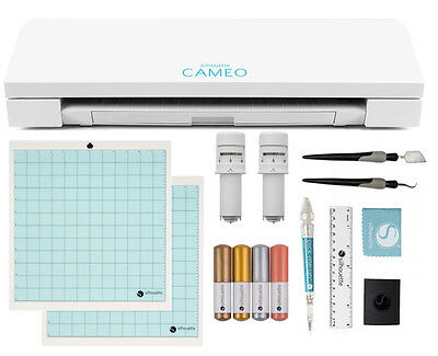 Shipping NOW  New Silhouette Cameo V3 Bluetooth STARTER BUNDLE Free Cover