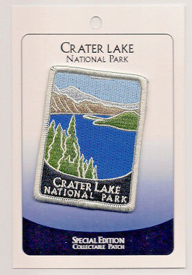 Crater Lake National Park Souvenir Patch - Special Edition Traveler Series