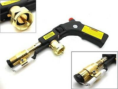 Portable 3200 Degree Push Button Electric Start Propane Torch With World Ship!