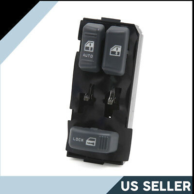 Front Left Power Window Switch 15151356 for 1995-2001 GMC C3500