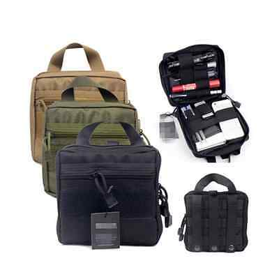 Tactical Molle First Aid Medic Kit Pouch Organizer Utility Bag Pouch Backpack