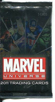 Marvel Universe 2011 Factory Sealed Hobby Packet / Pack