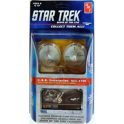 AMT Star Trek Ships of The Line Snap Kits - 1:2500 Scale Model Kit
