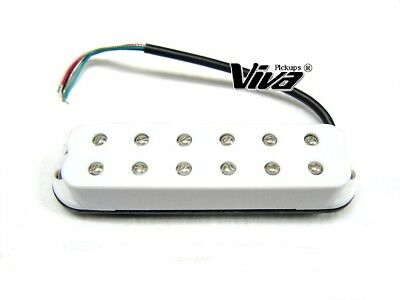VIVA® SH 01 WH Ceramic Humbucker im Single Coil Format weiß