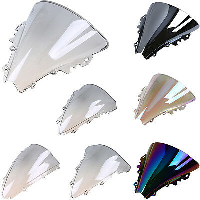 Front Windproof Windshield Windscreen Screen for Yamaha YZF R1 2007-2008 07 08