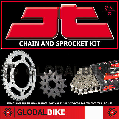 Yamaha MT125 (ABS)  428 Pitch Heavy Duty JT Chain and Sprocket Kit