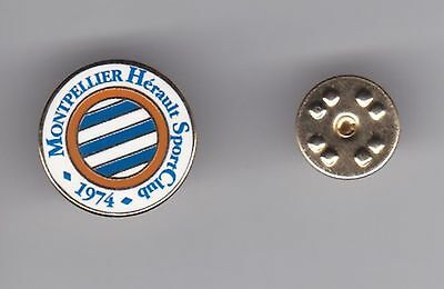 Montpellier ( France ) - lapel badge butterfly fitting
