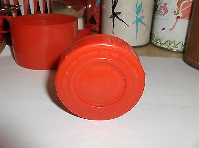 Red Plastic-Aladdin-Thermos Stopper`Fits Bonanza,Daniel Boone & Other Thermoses