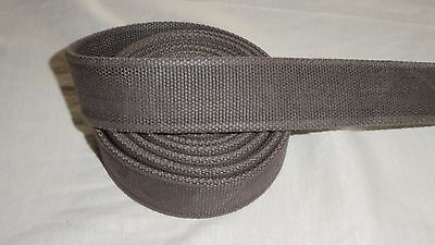 38mm wide Heavyweight Bag/Belt Strapping/Webbing, 3.3 metres