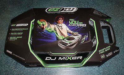 NIB EZ Pro DJ Mixer Works with Smart Devices IOS & Android Compatible GREAT GIFT