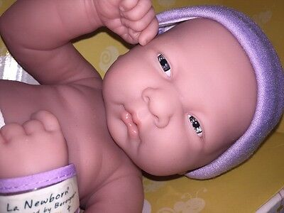Preemie Berenguer La Newborn Reborn Nurturing Nursery Doll  PURPLE NEW N BOX