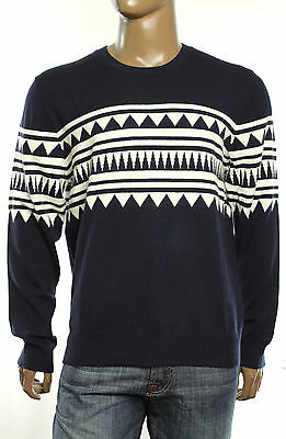 New The Mens Store Bloomingdales Crew Neck 100% 2-Ply Cashmere Sweater Xl