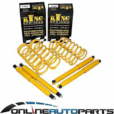 "2"" 50mm Suspension Lift Kit Coil Springs Long Shocks fits Patrol GQ Y60 GU Y61"