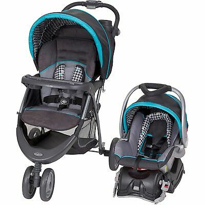 Baby Trend EZ Ride 5 Travel System Stroller and Infant Car Seat - Houndstooth