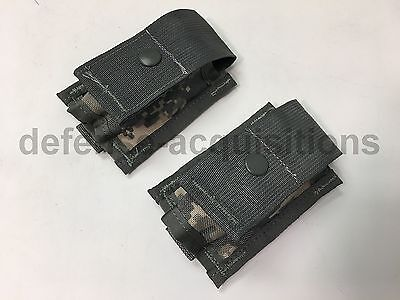 Set of 2 NEW US Military MOLLE 40MM Pouch US Military Issue ACU