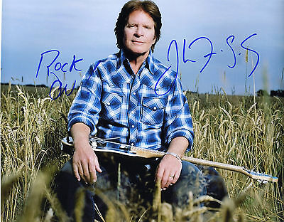 REPRINT - JOHN FOGERTY 2 Creedence CCR autographed signed photo copy replica RP