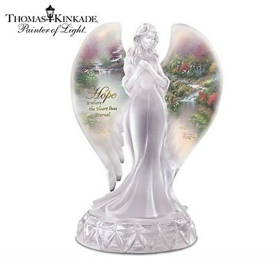 Hope Angel Thomas Kinkade Serenity Angels Bradford Exchange