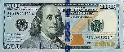 $100 dollar bill Fed Reserve Note 2009-2013 lightly circulated Fast Shipping!