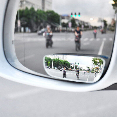 2Pcs Universal Car Auto 360° Wide Angle Convex Side View Blind Spot Mirror New