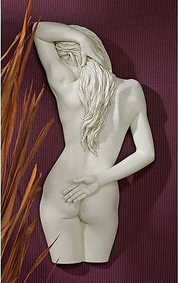 "Design Toscano ""Sweet Surrender"" Wall Sculpture Indoor/Outdoor Ornament Decor"