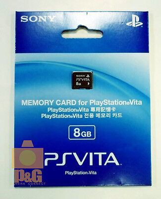 NEW BOXED SONY 8G 8GB PSVITA PSV PS VITA Playstation Memory Card
