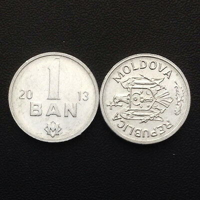 Moldova 1 ban, Random year, KM#1, Single coin, UNC