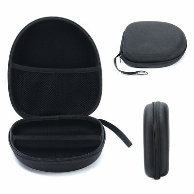 Protective Zip Hard Shell Case Box Bag Pouch For Large Headphone Headset Earbuds