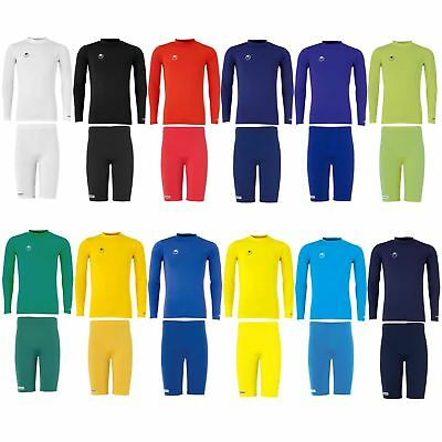 Uhlsport Funktionsunterwäsche Unterziehshirt Funktionsshirt+Funktionshose Tight