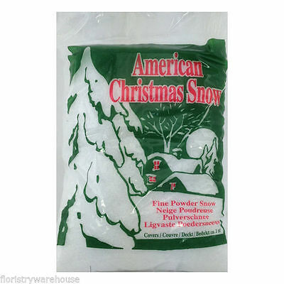Artificial snow fine Powder for Christmas and winter displays 4 litre bag