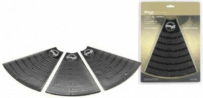 Stagg CGC-03 BK Cymbal Gel Control / Damper / Silencer Practise Pads 3 Pack