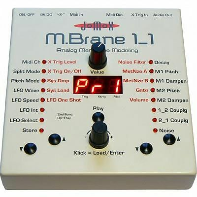 Jomox MBrane 11 Analog Percussion Synthesizer