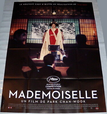 THE HANDMAiDEN 아가씨 Park Chan-Wook Korea Kim Min-Hee LARGE French POSTER