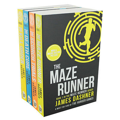 The Maze Runner Book Series by James Dashner (Paperback), Fiction Books, New