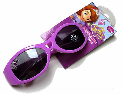 Disney Sophia The First Pink Young Girls Sunglasses 100% Uv Protection Bnwt