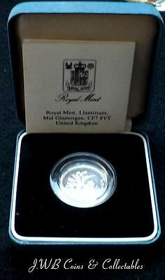 1989 United Kingdom Silver Proof £1 One Pound Coin