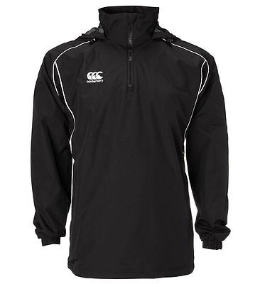 Canterbury Mens 1/4 Zip Rugby Fully Lined Rain Jacket M L Xl 3Xl Rrp £45