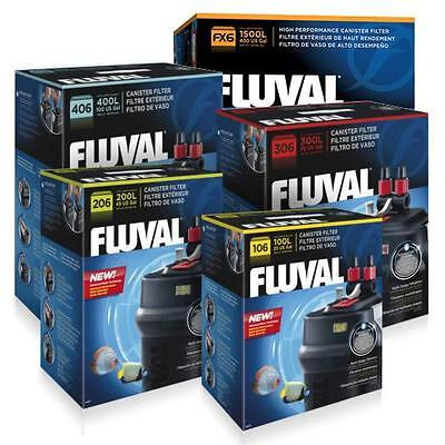 Fluval Hagen Fish Tank External Aquarium Canister Filter 106 206 306 406 FX4 FX6