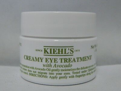 Creamy Eye Treatment with Avocado by KIEHL'S 14g/0.5oz NEW